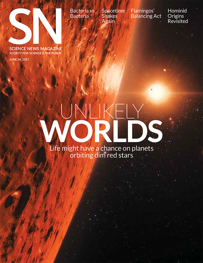 Science News magazine cover exoplanets